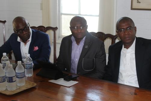 Femi Niyi,Executive Director, Wale  Sonaike,Deputy Managing Director  AutoReg Franchise and Courteville Group Managing Director Bola Akindele