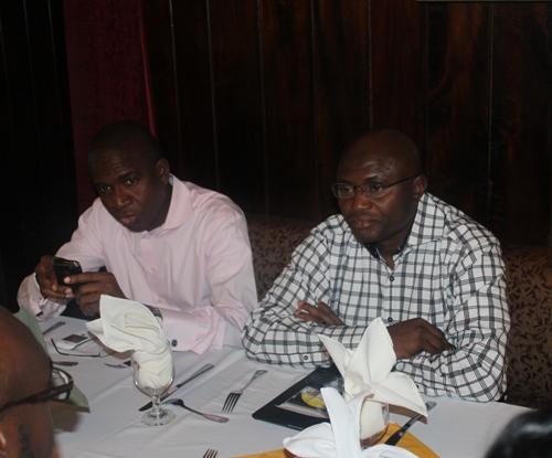 Managing Director Bola Akindele and Deputy Managing Wale Sonaike