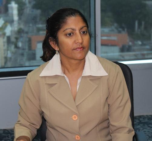 Senior Facilitation & Aftercare Officer, Ms. Nyala Singh
