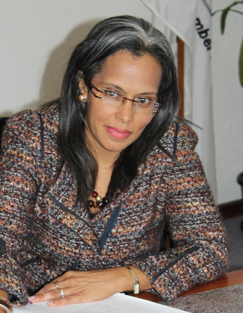 Trade and Business Development Manager, Mrs Camille Sears-Carter Wells