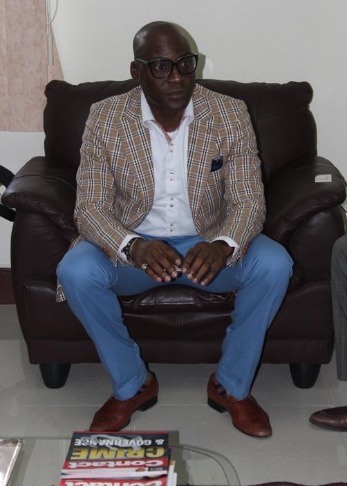 Mr Femi Niyi, Executive Director Courteville Group