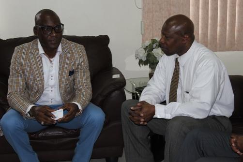 Femi Niyi and Denis St Bernard