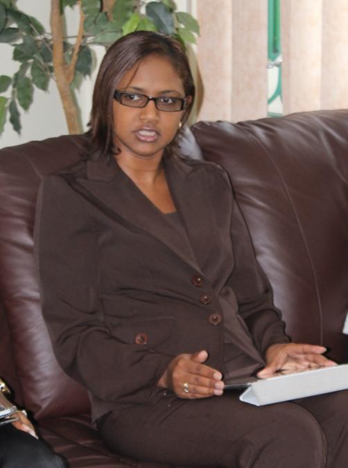 Ms Renata Girod, Senior Sector Officer for InvesTT