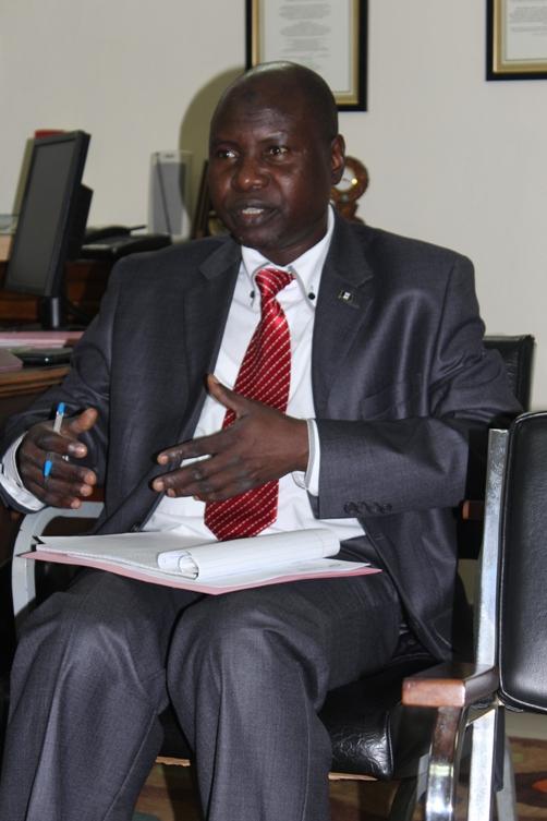 Minister, Politics and Economics, Mr Nasiru Waje.