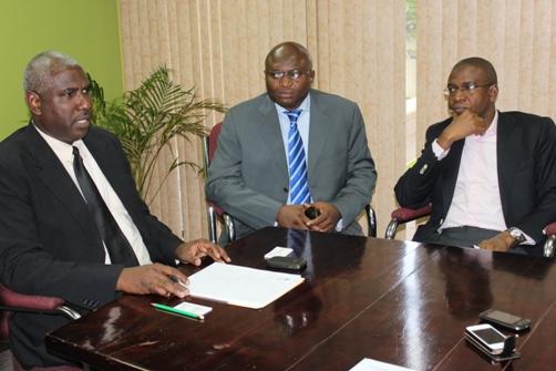 Brian Benjamin, Wale Sonaike and Courteville MD Bola Akindele