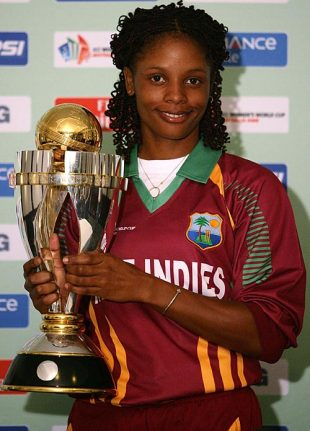 Captain Merissa Aguilleira. Photo courtesy www.crickettribune.com