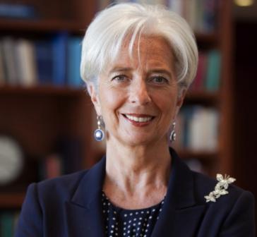 Christine Lagarde of IMF