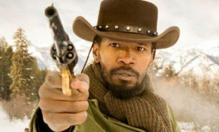 Jamie Foxx as Django. Photo courtesy radiotimes.com