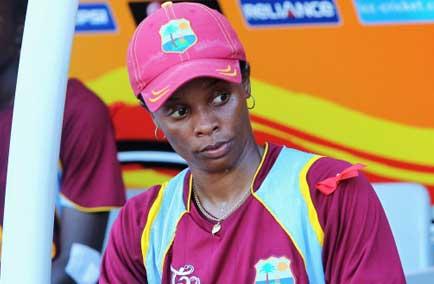 West Indies Women Cricket. Merissa Aguilleira.