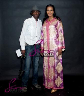 Daniel Sync and Bianca Ojukwu