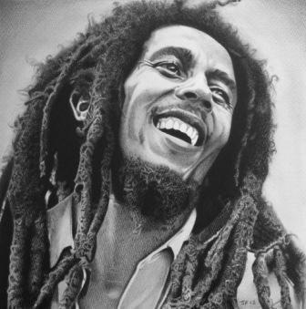 Reggae legand Bob Marley