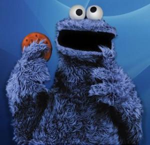 Cookie Monster. Photo courtesy sanseverything.wordpress.com
