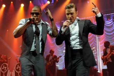 Jay Z and Justin Timberlake