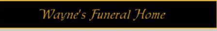 Wayne Funeral