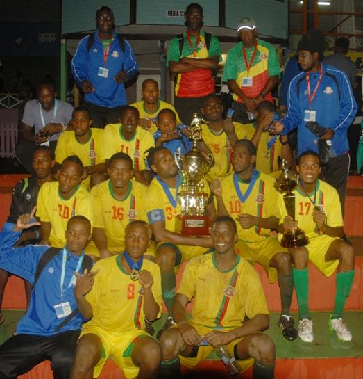 GRENADA - Windward Islands football kings