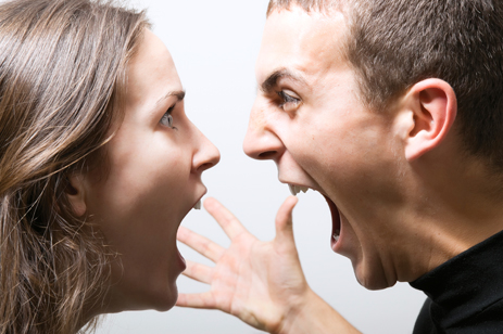 Angry couple. Photo courtesy www.montvillecounseling.com