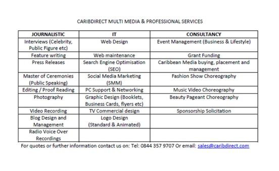 CaribDirect Services