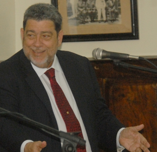 Prime Minister Ralph Gonsalves feature