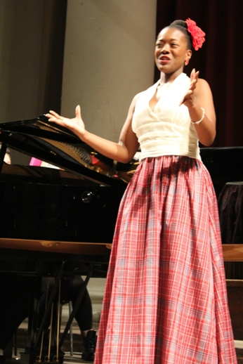 Abigail doing Caribbean FolkloreCaribDirect