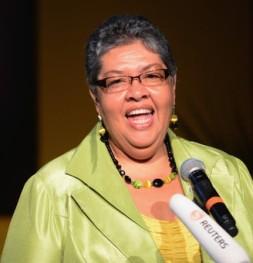 Jamaican High Commissioner Aloun Ndombet-Assamba,