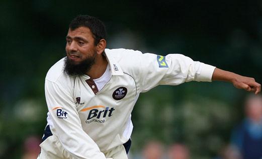 Saqlain Mushtaq. Photo courtesy cricketoria.blogspot.com