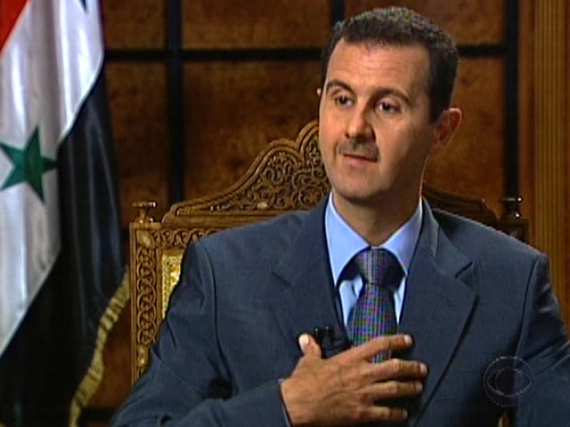 President Bashar Al Assad. Photo courtesy patdollard.com