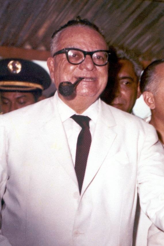 Former Venezuelan President Romulo Betancourt. Courtesy venciclopedia.com