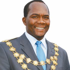 Mayor James Nxumalo. Photo courtesy showme.co.za