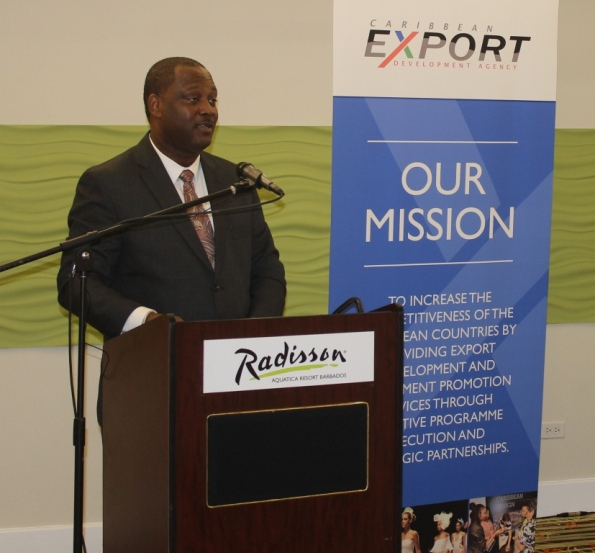 The Hon. Donville Inniss, Minister of Industry, International Business, Commerce and Small Business Development, Barbados