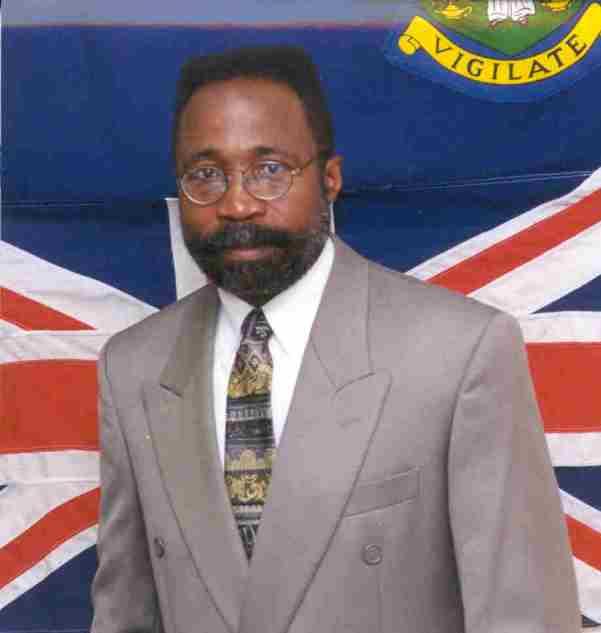 Hon. Julian Fraser. Photo courtesy www.legco.gov.vg