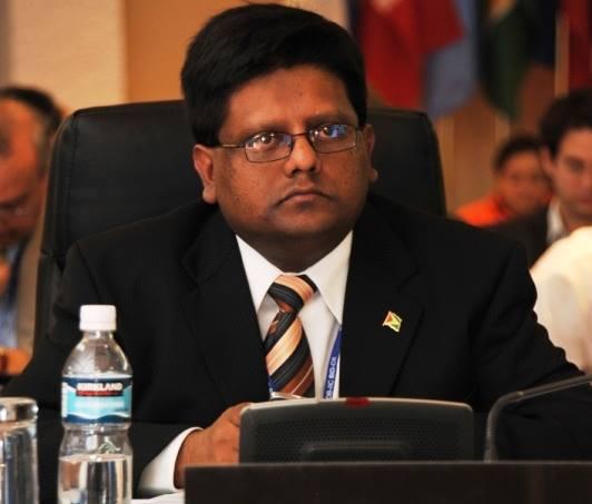 Minister Dr. Ashni Singh