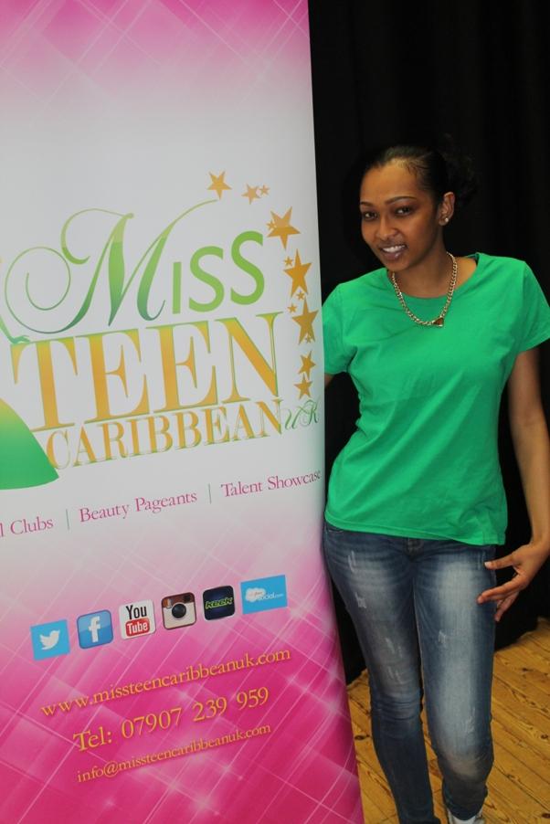 Shanise Segre Miss Teen Caribbean UK Vice President