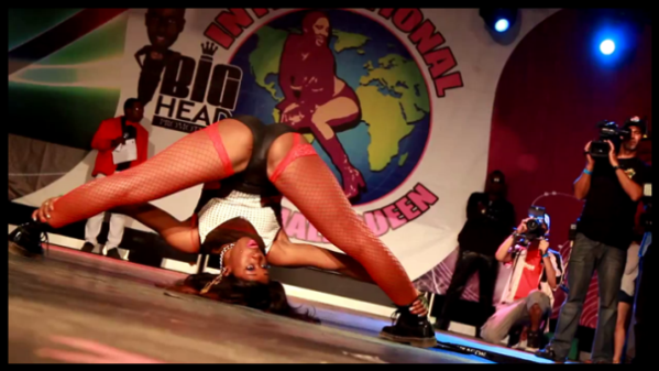 Dancehall Queen contestant. Photo courtesy swaggarightentertainment.com