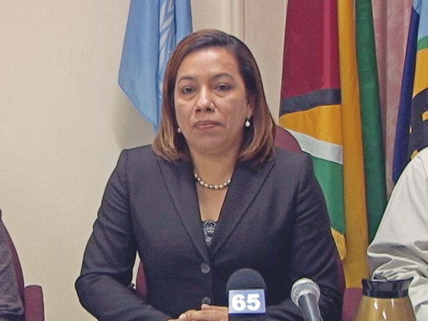 Foreign Minister Rodrigues-Birkett