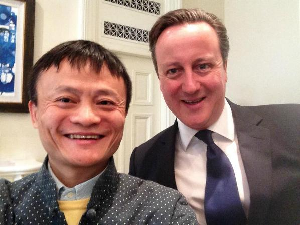 Our own beloved leader David Cameron has been known to dabble with the founder of Alibaba. Photo courtesy www.businessinsider.com