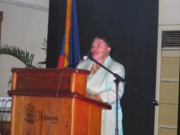 Yolette Azor, Deputy Programme Manager, Binational Programme Haiti – DR, Caribbean Export