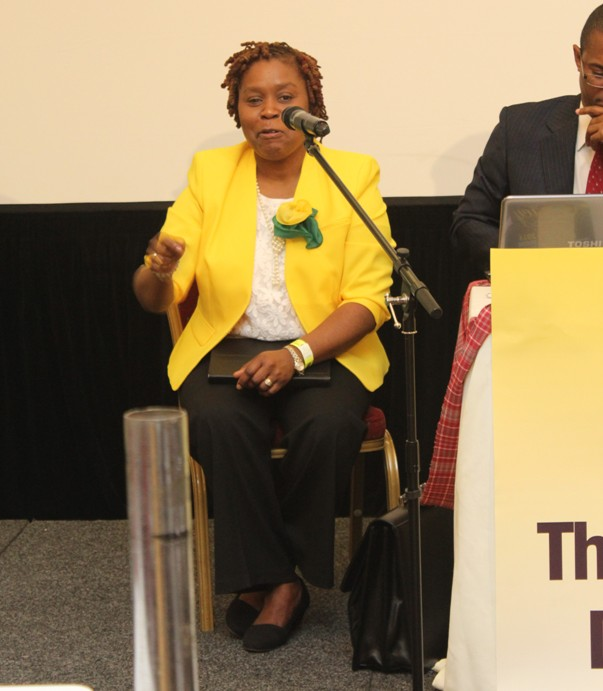 Chair, JDUK Mrs. Sasha Henry-Crawford. Photo courtesy CaribDirect.com