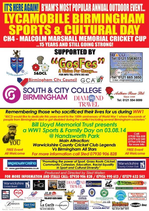 Malcolm Marshall 2014 Leaflet Back