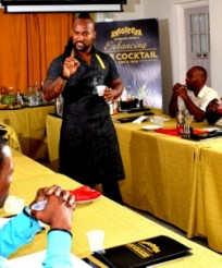 "Vincentian bartenders told ""Know your product as a bartender"""