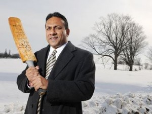Roy Singh, Founder and CEO Canadian Premier League. Photo courtesy www.durhamregion.com