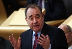 Alex Salmond. Photo courtesy www.westerndailypress.co.uk