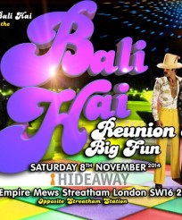 Bali Hai reunion 8 coming soon