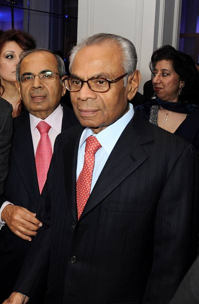 Two of the UK billionnaires, Gopichand Hinduja and Srichand Hinduja Picture courtesy: Getty and www.emirates247.com