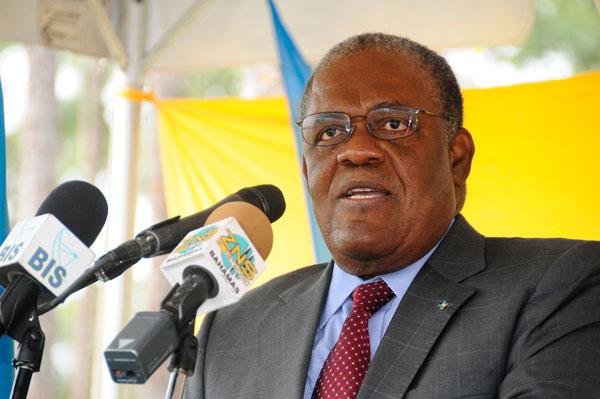 Prime Minister Hubert Ingraham. Photo courtesy www.thebahamasweekly.com