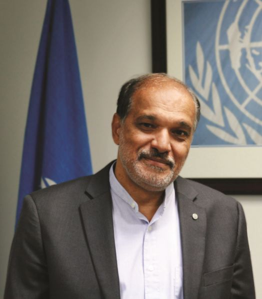 FAO Subregional Coordinator for the Caribbean, Dr. J.R. Deep Ford