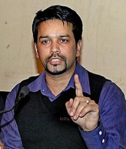 Anurag Thakur. Photo courtesy www.topnews.in