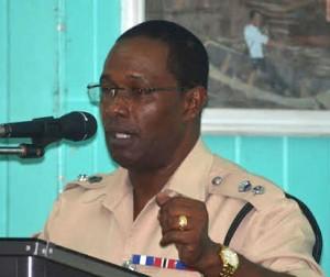 Commander Clifton Hicken. Photo courtesy newsnow.gy