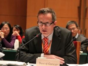 David Concar. Photo courtesy finance.sina.com.cn
