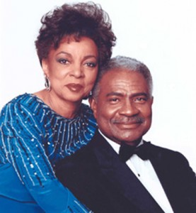 The late Ossie Davis and Ruby Dee