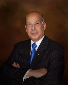 Dr. Sir Ronald Sanders former Caribbean diplomat